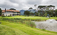 KILLARNEY (Ireland) - Hole 18 met clubhuis. Killarney Golf & Fishing Club. COPYRIGHT KOEN SUYK