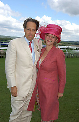 The EARL & COUNTESS OF MARCH & KINRARA at the 4th dfay of the 2005 Glorious Goodwood horseracing festival at Goodwood Racecourse, West Sussex on 29th July 2005.    <br /><br />NON EXCLUSIVE - WORLD RIGHTS