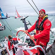 Leg Zero, Round Britain Island Race: on board MAPFRE, . Photo by Ugo Fonolla/Volvo Ocean Race. 02August, 2017