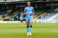 Kane Wilson (2) of Forest Green Rovers during the Pre-Season Friendly match between Yeovil Town and Forest Green Rovers at Huish Park, Yeovil, England on 31 July 2021.
