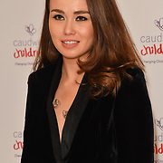Alicia Lowes attends the Children's charity hosts fashion and beauty lunch event, with live entertainment at The Dorchester, London, UK. 12 October 2018.