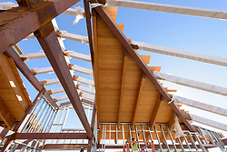 Meigs Point Nature Center at Hammonasset Beach State Park  <br /> Connecticut State Project No: BI-T-601<br /> Architect: Northeast Collaborative Architects  Contractor: Secondino & Son<br /> James R Anderson Photography New Haven CT photog.com<br /> Date of Photograph: 03 November 2015<br /> Camera View: 13