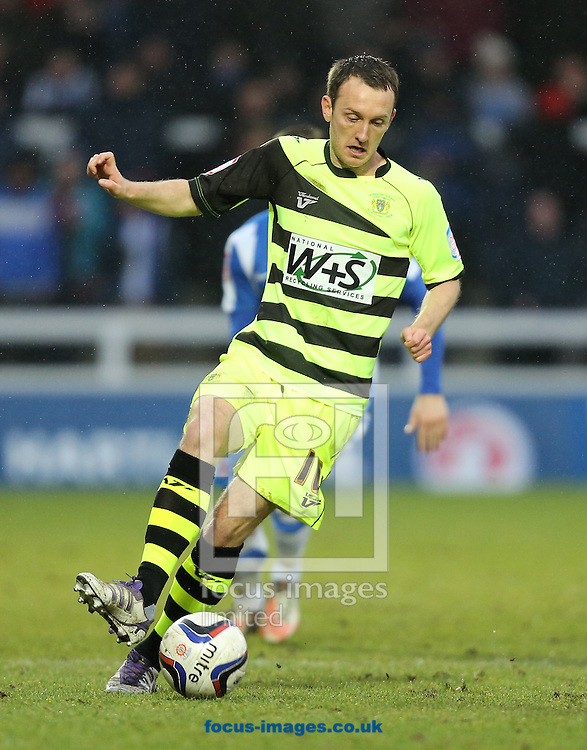 Picture by Paul Gaythorpe/Focus Images Ltd +447771 871632.09/03/2013.Sam Foley of Yeovil Town during the npower League 1 match at Victoria Park, Hartlepool.