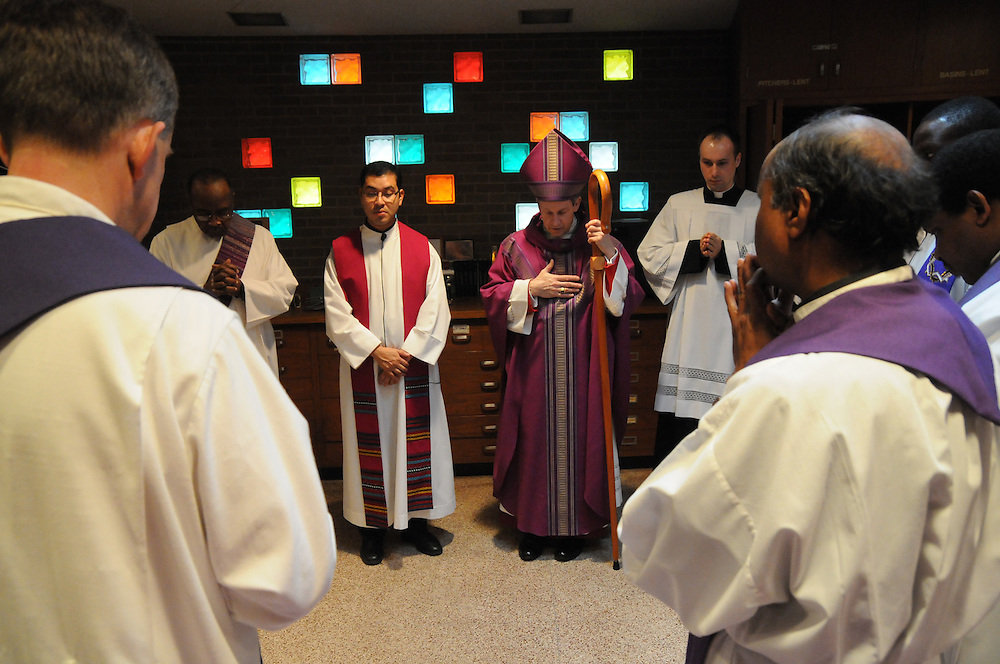 Sunday, March 8,  2009- The installation of Fr. Carmelo M..Izquierdo as Pastor to Saint Eulalia Catholic Church in Maywood.