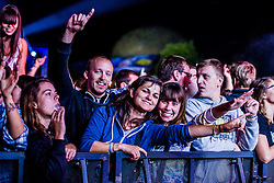 Niet during music festival Schengen fest od / 1. August in Vinica, Slovenia.  Photo by Grega Valancic / Sportida