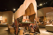 Topeka, Kansas KS, USA, Kansas museum of History, A typical pioneer wagon