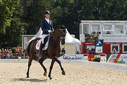Heijkoop Danielle, (NED), El Torro B<br /> Final 6 years old horses<br /> World Championship Young Dressage Horses - Verden 2015<br /> © Hippo Foto - Dirk Caremans<br /> 09/08/15