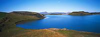 Islande. Lac de Myvatn. // Iceland. Myvatn lake.
