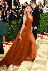Paris Jackson attending the Metropolitan Museum of Art Costume Institute Benefit Gala 2018 in New York, USA. PRESS ASSOCIATION Photo. Picture date: Picture date: Monday May 7, 2018. See PA story SHOWBIZ MET Gala. Photo credit should read: Ian West/PA Wire