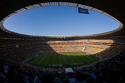 Stadium Soccer City before the 2010 FIFA World Cup South Africa Group A match between South Africa and Mexico at Soccer City Stadium on June 11, 2010 in Johannesburg, South Africa.  (Photo by Vid Ponikvar / Sportida)
