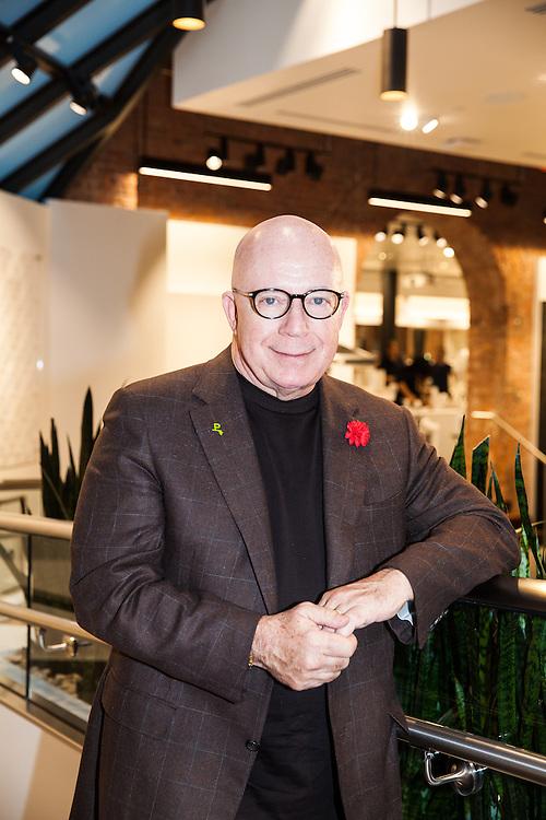 Jeffery Sears, CEO of Pirch, inside Pirch SoHo, 2016.