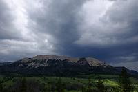Mount Osborne, Green River Lakes, Wind River Mountains, Wyoming
