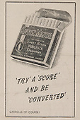 Rugby 25/02/1950 Five Nations Ireland Vs Scotland