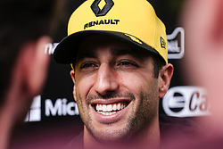 February 19, 2019 - Barcelona, Barcelona, Spain - Daniel Ricciardo from Australia with 03 Renault F1 Team RS19 portrait during the Formula 1 2019 Pre-Season Tests at Circuit de Barcelona - Catalunya in Montmelo, Spain on February 19. (Credit Image: © Xavier Bonilla/NurPhoto via ZUMA Press)