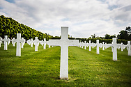 An American soldier, killed three weeks before the end of World War I, is one of 14,246 Americans buried at the Meuse-Argonne American Cemetery and Memorial in France. The cemetery, located east of the village of Romagne-sous-Montfaucon in Meuse, contains the largest number of American military dead in Europe (14,246), most of whom lost their lives during the Meuse-Argonne Offensive and were buried there.
