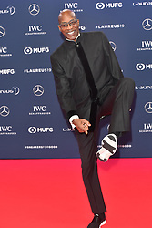 February 18, 2019 - Monaco, Monaco - Edwin Moses arriving at the 2019 Laureus World Sports Awards on February 18, 2019 in Monaco  (Credit Image: © Famous/Ace Pictures via ZUMA Press)