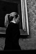 Giorgia Meloni, leader e coofondatrice del movimento Fratelli d'Italia dopo le consultazioni con il Premier incaricato per formare il nuovo Governo. Roma, 27 marzo 2013. Christian Mantuano /  Oneshot  <br /> Giorgia Meloni, leader of the movement and coofondatrice Brothers of Italy after consultations with the Prime Minister in charge of forming the new government. Rome, 27 March 2013. Christian Mantuano / Oneshot