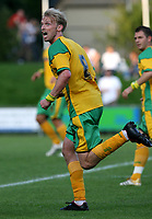Photo: Maarten Straetemans.<br /> FC Zwolle v Norwich City. Pre Season Friendly. 25/07/2007.<br /> Luke Chadwick (Norwich City)