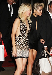 Ellie Goulding & Rita Ora, GQ Men of the Year Awards 2013, Royal Opera House, London UK, 29 August 2013, (Photo by Brett D. Cove)