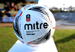 Official Mitre match ball of the Emirates FA Cup