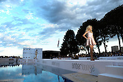 May 20-24, 2015: Monaco Amber Lounge Fashion Show- Victoria Silverstedt