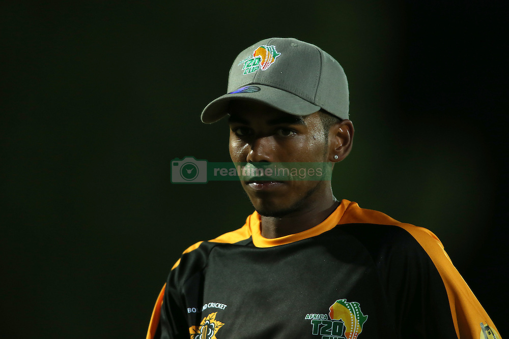 Boland captain Keegan Peterson during the Africa T20 cup pool D match between Boland and Eastern Province held at the Boland Park cricket ground in Paarl on the 24th September 2016.<br /> <br /> Photo by: Shaun Roy/ RealTime Images