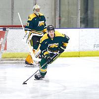 5th year forward, Corey Kosloski (17) of the Regina Cougars during the Men's Hockey Home Game on Sat Dec 01 at Co-operators Center. Credit: Arthur Ward/Arthur Images