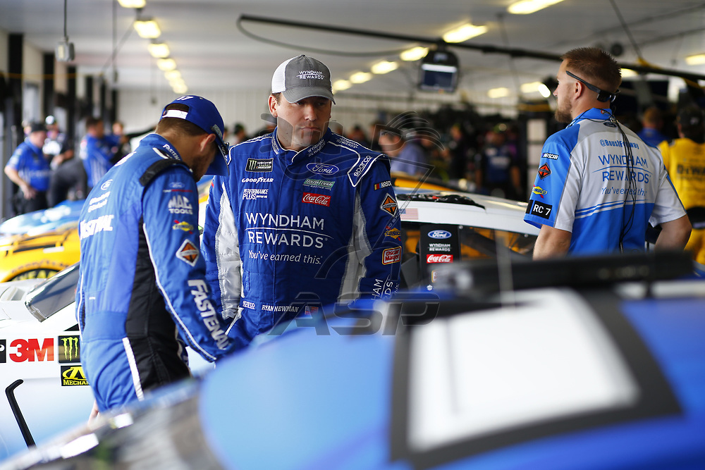 {persons} takes to the track to practice for the Pocono 400 at Pocono Raceway in Long Pond, Pennsylvania.