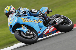 18.06.2010, Circuit, Silverstone, GBR, MotoGP, Airasia British Grand Prix, im Bild Loris Capirossi - Rizla Suzuki team. EXPA Pictures © 2010, PhotoCredit: EXPA/ InsideFoto/ Semedia / SPORTIDA PHOTO AGENCY