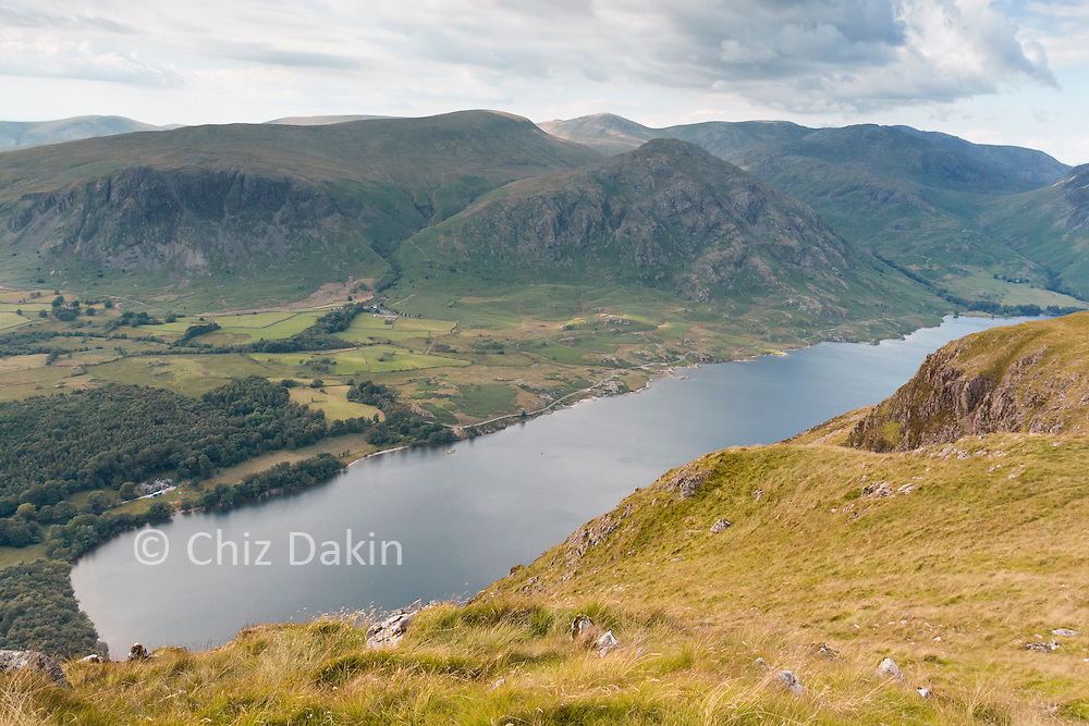 A slight (and often windy) detour is worth it for a great view of Wastwater from Whin Rigg