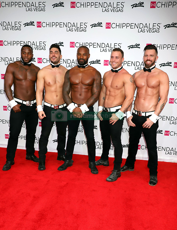 Tyson Beckford returns To Chippendales Las Vegas As Celebrity Guest Host at Chippendales Theatre at Rio All-Suite & Casino in Las Vegas, USA