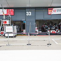 #1 and #2 Porsche LMP1 team at FIA WEC 6 Hours of Silverstone 2017, Silverstone International Circuit, on 13.04.2017