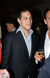 LORD FREDERICK WINDSOR at a party to celebrate the 21st year of Hackett held at their store in Sloane Street, London on 26th October 2004.<br /><br />NON EXCLUSIVE - WORLD RIGHTS