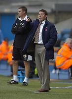 Photo: Matt Bright/Sportsbeat Images.<br /> Millwall v Hartlepool United. Coca Cola League 1. 03/11/2007.<br /> Manager of Hartlepool Danny Wilson