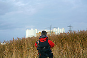 Quintin Lake by Oldbury Nuclear Power Station, Severn Estuary. Photos by Alice Hendy