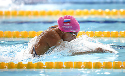 Russia's Yuliya Efimova on her way to winning gold in the Women's 100m Breaststroke Final during day four of the 2018 European Championships at the Tollcross International Swimming Centre, Glasgow. PRESS ASSOCIATION Photo. Picture date: Sunday August 5, 2018. See PA story SWIMMING European. Photo credit should read: Ian Rutherford/PA Wire. RESTRICTIONS: Editorial use only, no commercial use without prior permission