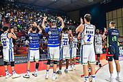 Team Banco di Sardegna Dinamo Sassari, Commando Ultra' Dinamo<br /> Vanoli Cremona - Banco di Sardegna Dinamo Sassari<br /> Semifinale Zurich Connect Supercoppa LBA 2019<br /> Bari, 21/09/2019<br /> Foto L.Canu / Ciamillo-Castoria
