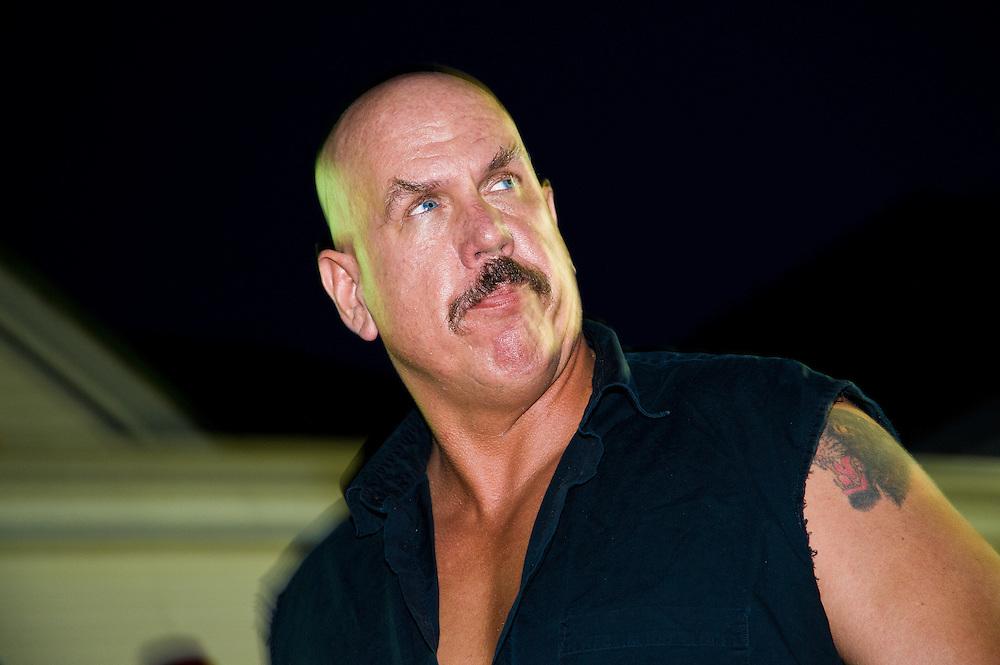 Evil TNT in the ring
