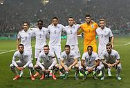 England's team group<br /> <br /> - International Friendly - Scotland vs England- Celtic Park - Glasgow - Scotland - 18th November 2014  - Picture David Klein/Sportimage