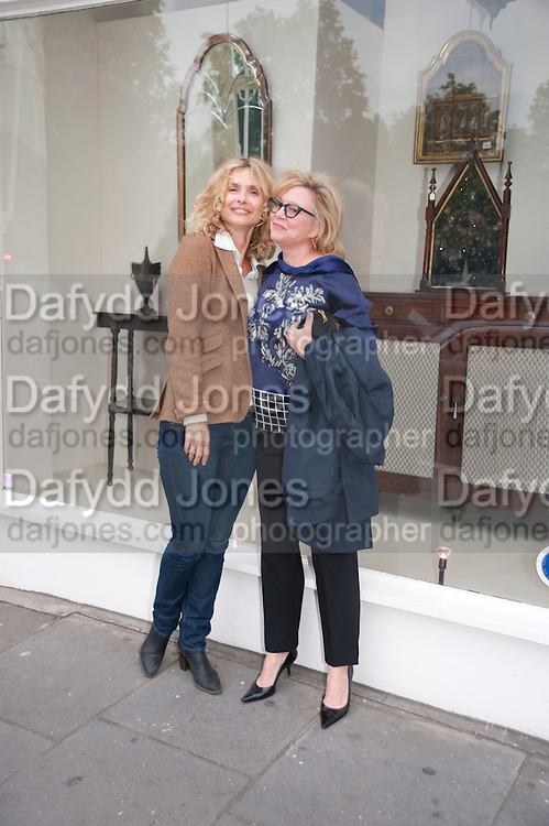 MARYAM D'ABO; KAY SAATCHI, The Pimlico Road Summer party. London SW1. 9 June 2009