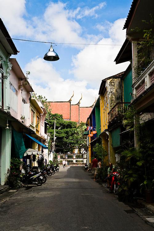 Soi Romanee shop houses, Phuket Old Town
