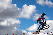 BMX Qualification, Aleksandr Katyshev (Russian Federation) during the Cycling European Championships Glasgow 2018, at Glasgow BMX Centre, in Glasgow, Great Britain, Day 9, on August 10, 2018 - Photo luca Bettini / BettiniPhoto / ProSportsImages / DPPI<br /> - Restriction / Netherlands out, Belgium out, Spain out, Italy out -