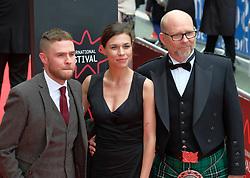 Edinburgh International Film Festival, Wednesday, 19th June 2018<br /> <br /> Opening Night Red Carpet: PUZZLE (International Premiere) <br /> <br /> Pictured: Iain De Caestecker, Ana Ularu and Jason Connery<br /> <br /> (c) Aimee Todd | Edinburgh Elite media