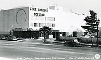1940 Earl Carroll Theater