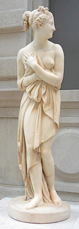 Venus Italica  Antonio Canova (Italian, Possagno 1757–1822 Venice) ca. 1822–23, Marble