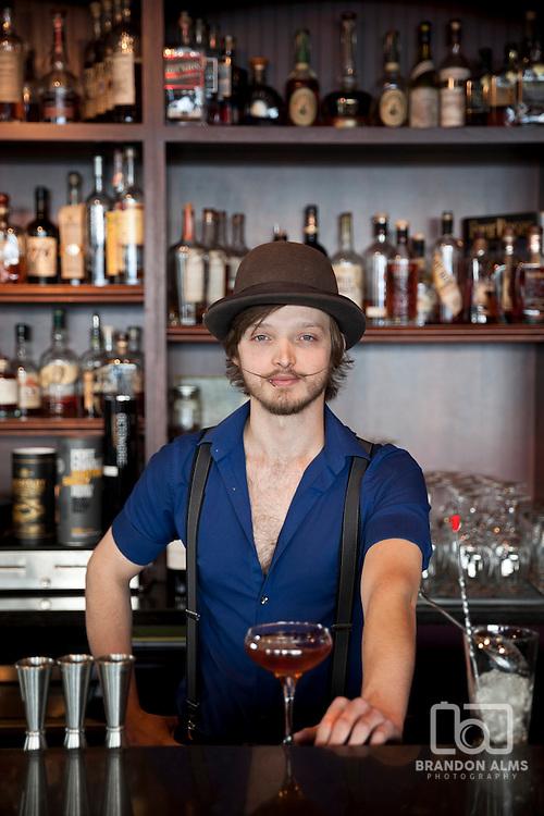 Bartender at Barley Wheat and Rye in Springfield, MO.