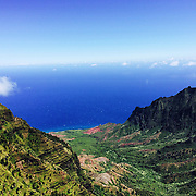 The view from Waimea Canyon lookout is amazing on a clear, Kauai day.