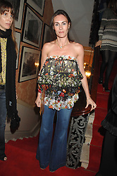 LAETITIA CASH at the engagement party of Vanessa Neumann and William Cash held at 16 Westbourne Terrace, London W2 on 15th April 2008.<br />