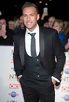 Calum Best at the 25th National Television Awards,O2, London, UK 28 Jan 2020  photos by Brian Jordan