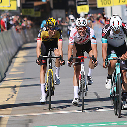 ANDERMATT (SUI) CYCLING<br /> Tour de Suisse stage 8<br /> <br /> <br /> Gijs Leemreize